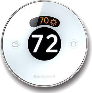 honeywell round thermostat | 70º 72º