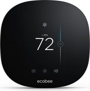 ecobee smart thermostat   72º