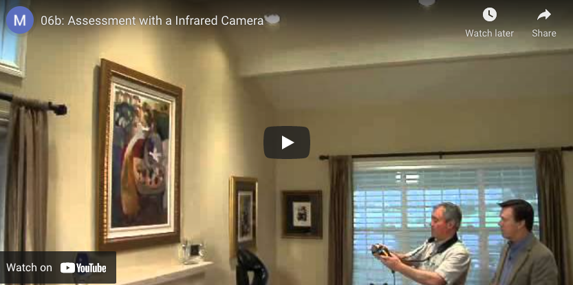 thumbnail: assessment with an infrared camera