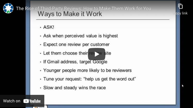 thumbnail: how to make third party reviews work for you